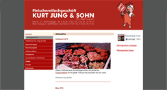 Preview of fleischerei-jung.de